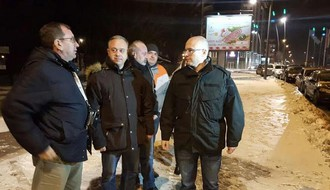 Gradonačelnik sinoć proverio rad zimske službe: Novi Sad prohodan