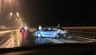 Lančani sudar kod Beške na autoputu Beograd - Novi Sad