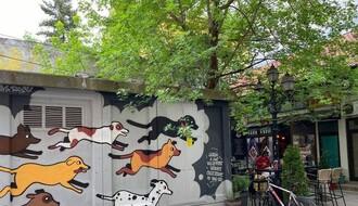 FOTO: U NS oslikan mural posvećen napuštenim životinjama