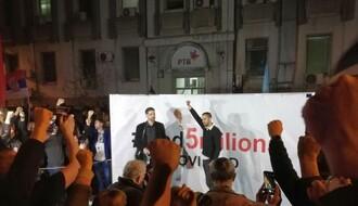 """1 OD 5 MILIONA"": Predstavnici protesta razgovarali s rukovodstvom RTV-a"