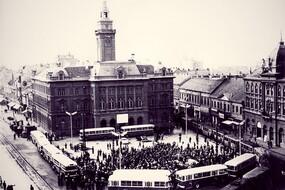 Prvi vozač autobusa u Novom Sadu