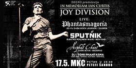 JOY DIVISION night in memoriam IAN CURTIS