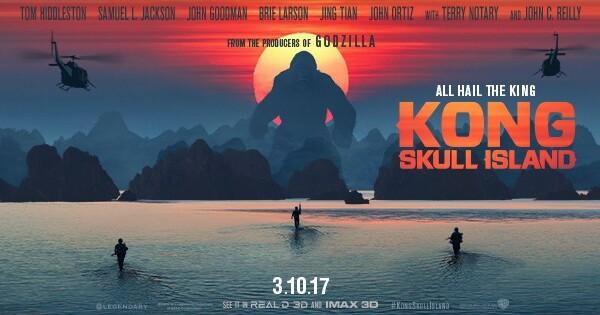 Kong: Ostrvo lobanja 3D