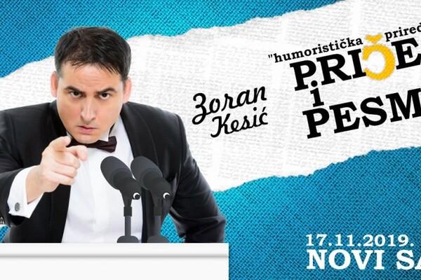 Zoran Kesić Priče i pesme - Novi Sad