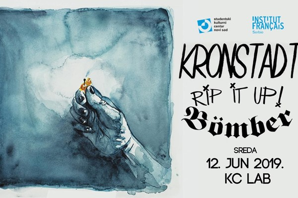 Koncert: Kronstadt / RIP It UP / Bomber