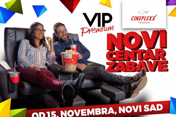 Cineplexx Promenada -  repertoar ponedeljak