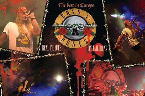 Guns 'N' Roses tribute // Jailbreak@live in Gerila!