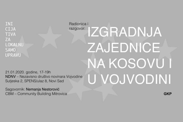 Razgovor: Izgradnja zajednice na Kosovu i u Vojvodini