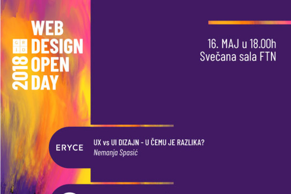 Web Design Open Day 2018