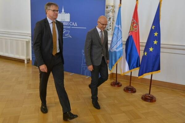 FOTO: Ambasador Nemačke posetio Novi Sad