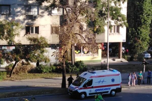 FOTO: Mladić (23) u rastrojstvu bacao stvari iz stana na Bulevaru kralja Petra I