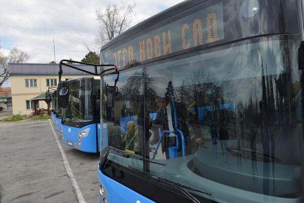 U garažu GSP-a stiglo 30 mercedesovih autobusa