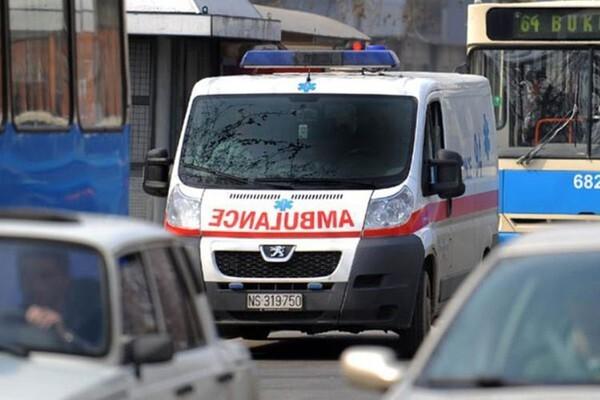 HITNA POMOĆ: Vikend obeležilo pet saobraćajnih nesreća i dvostruko samoubistvo
