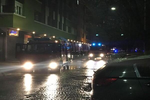 Požar u Novom Sadu: Evakuisano više od 250 ljudi, nema povređenih (FOTO)