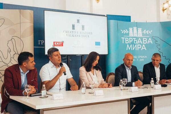 """Petrovaradinska tvrđava u saradnji Exita i Joko Ono postaje """"Tvrđava mira"""""""