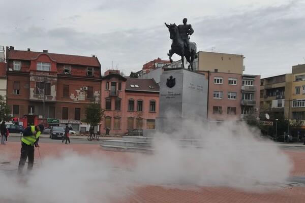 Kralj u magli i doček za predsednika
