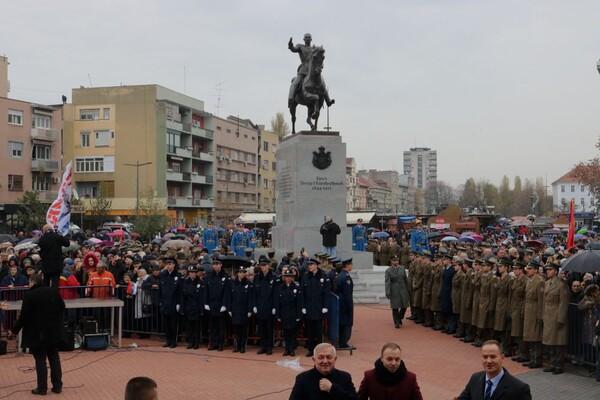 Otkriven spomenik kralju Petru Prvom Karađorđeviću u prisustvu vrha države i gostiju (FOTO)