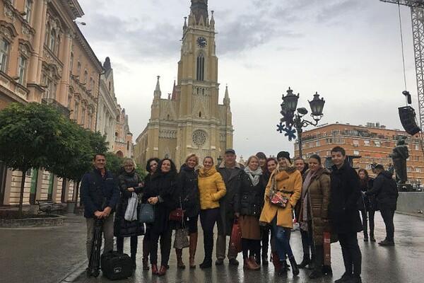 Turistička organizacija Grada Novog Sada ugostila novinare iz regiona (FOTO)