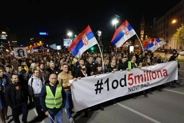 """""""1 OD 5 MILIONA"""": Organizatorima u NS predloženo da promene mesto okupljanja 12. aprila"""