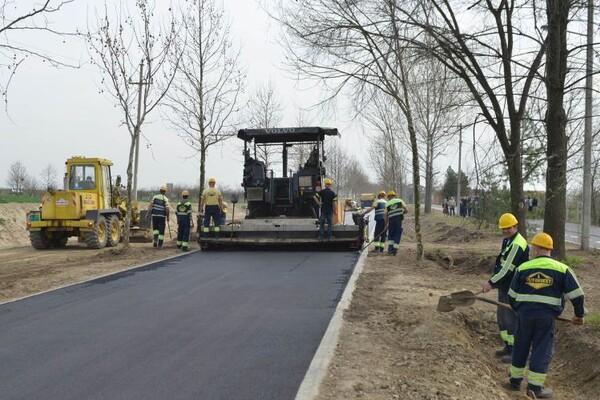 FOTO: Pri kraju radovi na rekonstrukciji ulice Delfe Ivanić u Kaću