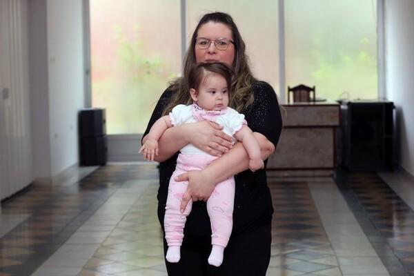 Upoznajte Sofiju, novosadsku bebu koja je rođena sa blizu šest kilograma (FOTO)