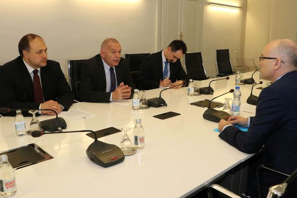 Ambasador Bugarske posetio Gradsku kuću (FOTO)