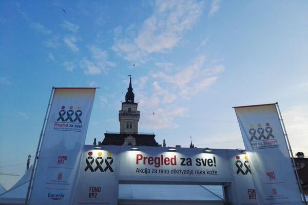 """""""PREGLED ZA SVE"""": Deset dermoskopskih ordinacija u utorak na Trgu slobode"""
