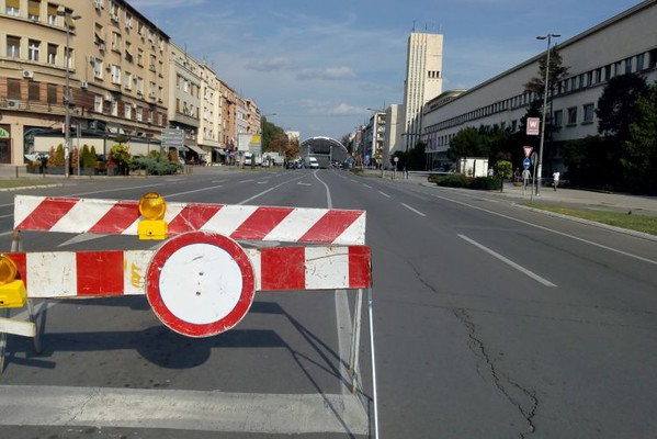 Bulevar Mihajla Pupina zatvoren zbog radova do 11. oktobra