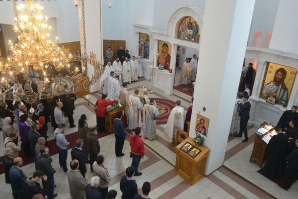 FOTO: Obeležena slava hrama Svetog Kirila i Metodija na Telepu