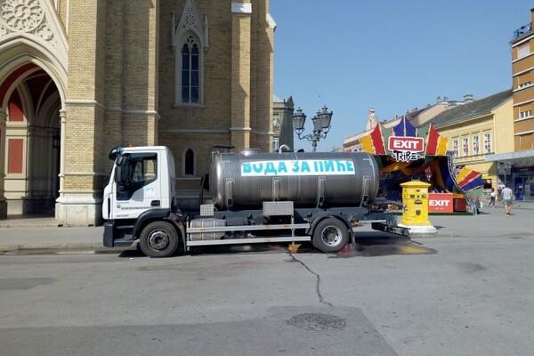 """""""VODOVOD"""": Cisterne s pijaćom vodom od danas na tri lokacije u gradu"""