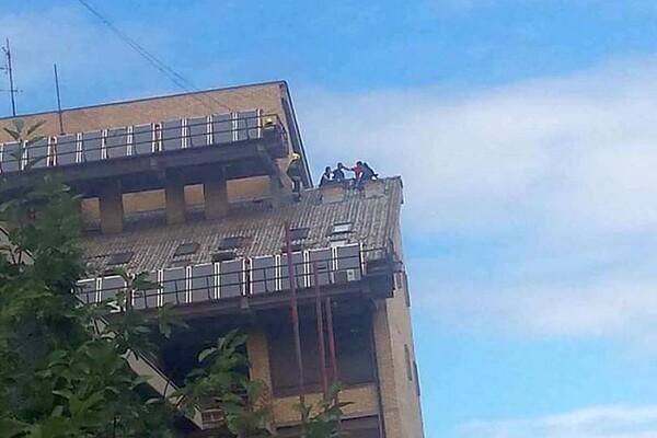 NOVO NASELJE: Žena pokušala da skoči sa zgrade Gerontološkog centra (FOTO)