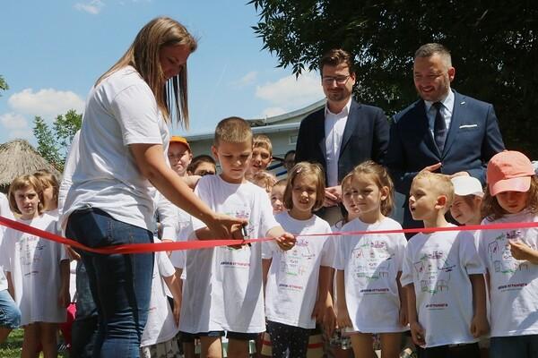 U Novom Sadu otvoreno prvo kombinovano igralište u Srbiji