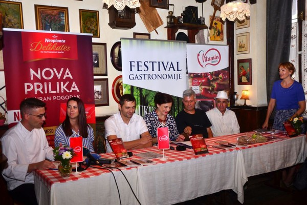 "Predstavljen program festivala ""Ukusi Vojvodine"""