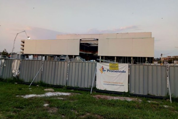 "Svetski brendovi dolaze u TC ""Promenada"", otvaranje na jesen"
