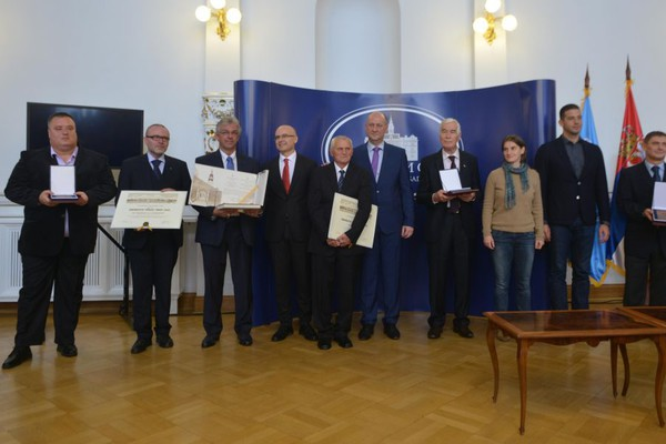 Dodeljene nagrade povodom obeležavanja Dana oslobođenja Novog Sada