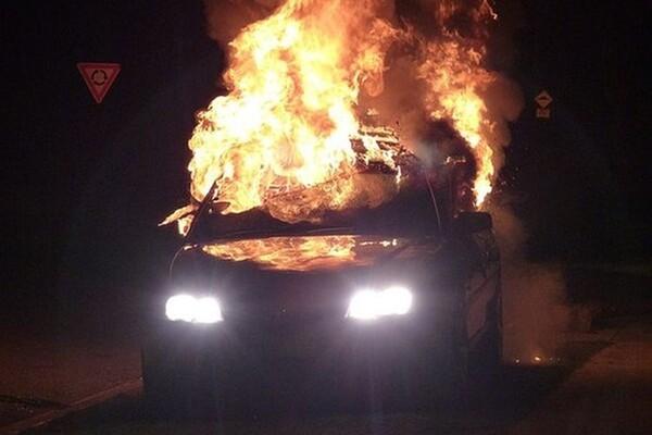Eksplozija na Limanu: Izgoreo BMW ispod Mosta slobode