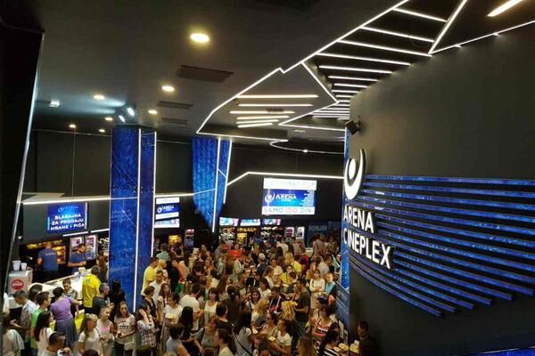 Arena Cineplex: Publika pokazala da voli domaće filmove FOTO