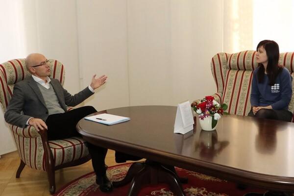 Predstavnica Evropskog omladinskog foruma posetila Novi Sad (FOTO)