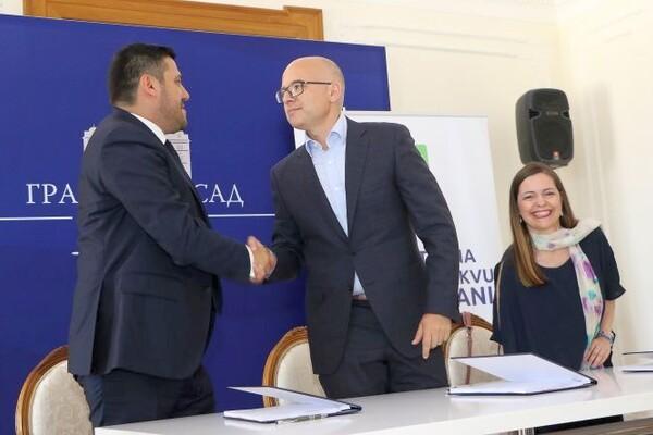 """Grad Novi Sad potpisao ugovor o koncesiji s Apotekom """"Benu"""""""
