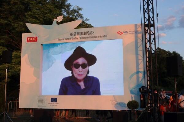 FOTO: Šajka Joko Ono zasijala na Tvrđavi kao simbol mira