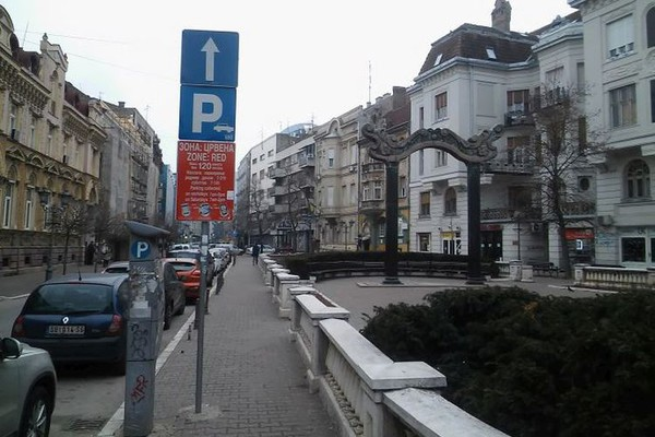 Besplatan parking u gradu tokom državnog praznika