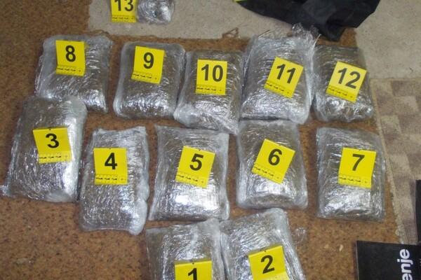Novosadska policija zaplenila 12 kilograma marihuane