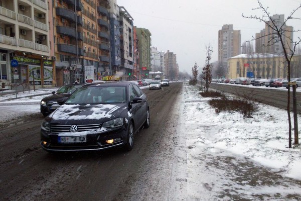 Oblačno, povremeno sa snegom, najviša dnevna u NS oko 2°C