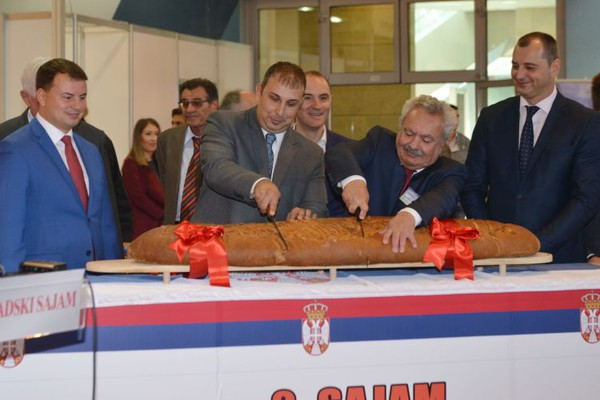 """Na Novosadskom sajmu otvoreni """"Pekarsko-mlinarski dani"""" (FOTO)"""