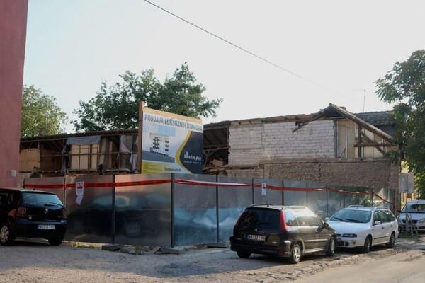Stanari zgrade čiji se zid srušio na Salajci i dalje bez rešenja