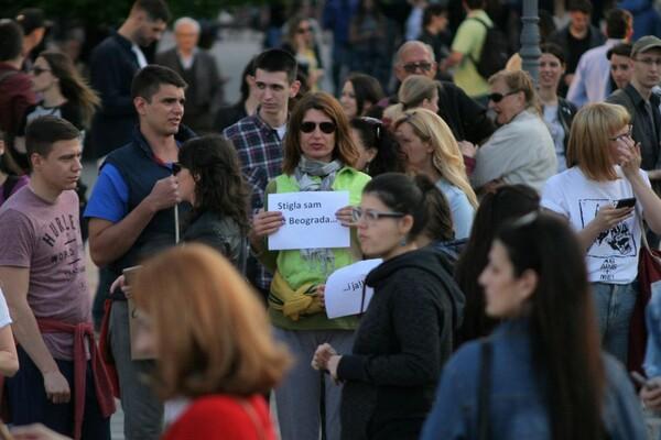 FOTO: Održan deseti protest – pauza do ponedeljka