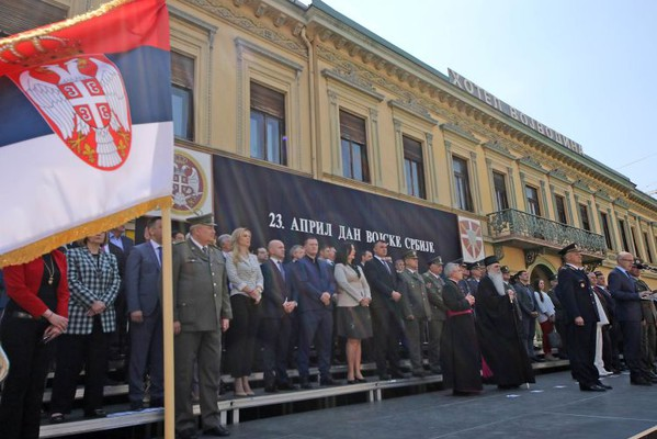 FOTO: Dan Vojske RS obeležen u Novom Sadu