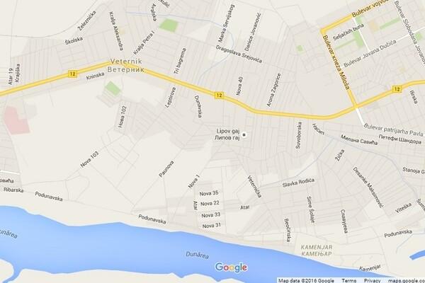 veternik mapa ATRAKTIVNO: Plan za deo Veternika između nasipa i Adica na javnom  veternik mapa