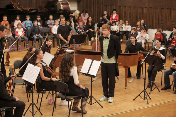 Edukacija kroz muziku: Vivaldi za novosadske mališane