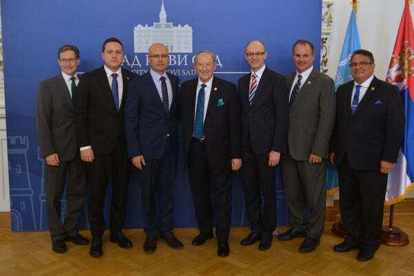 Delegacija savezne države Merilend u poseti Novom Sadu